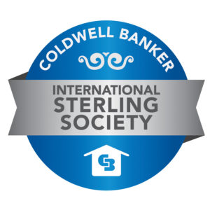 Coldwell Banker International President's Sterling Society Award