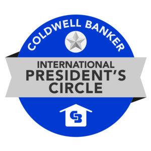Coldwell Banker International President's Circle Award