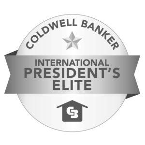 Coldwell Banker International President's Elite Award
