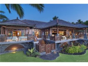 Three covered oceanside outdoor sitting areas architecturally designed for distinction of use. A covered outdoor extension of the Master Suite, a covered outdoor extension of the Main Living space and an absolutely stunning covered outdoor Bar and BBQ area.