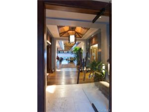 "Teak hardwood and hume softened marble flooring greet you as you enter the Main home. ""Primitive Modern"" combines the best of old and new globally sourced materials and positioned on this one of a kind location."