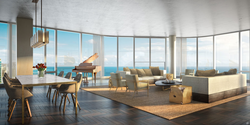 Anaha Grand Penthouse Living Room