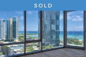 Sold: 1001 Queen Street #1912, Honolulu, HI 96814